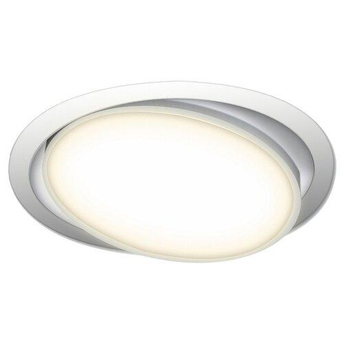 Встраиваемый светильник Donolux DL18813/15W White R встраиваемый светильник donolux dl132g shampagne gold