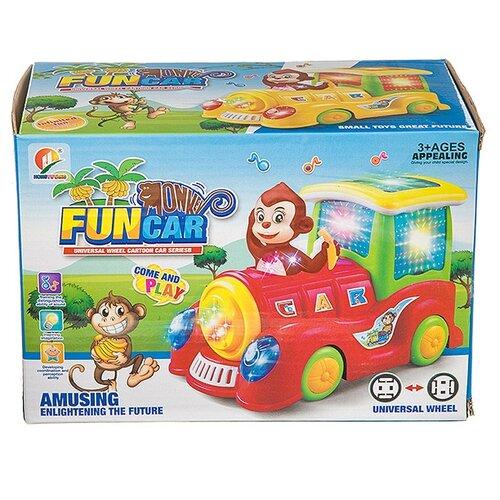 Купить Локомотив Fun car , Б94107, Shenzhen Jingyitian Trade, Наборы, локомотивы, вагоны