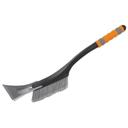Щетка-скребок Stels 55293 черный/серый/оранжевый