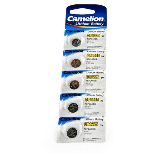 Фото - Батарейка Camelion CR1225 5 шт блистер тригрим таблетки 5 мг 30 шт