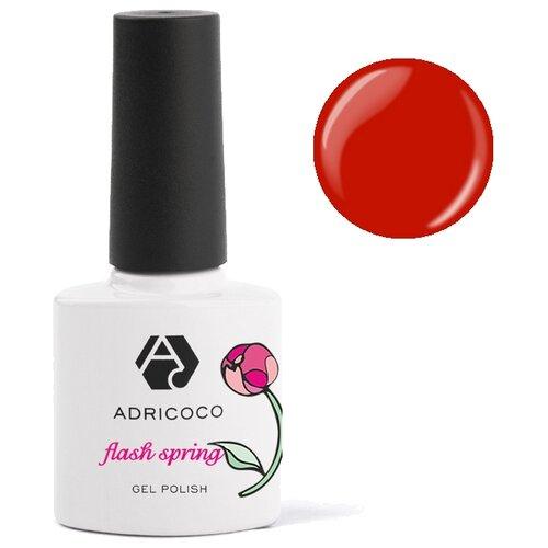 Гель-лак для ногтей ADRICOCO Flash Spring, 8 мл, 12 Красная ягода