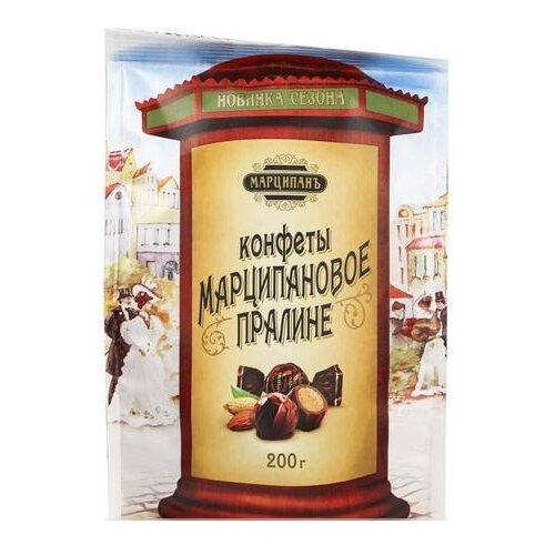 Конфеты GOOD FOOD Марципановое пралине, пакет 200 г конфеты марсианка мокко 200 г