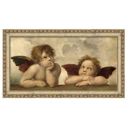Алмазная живопись Набор алмазной вышивки Ангелы Рафаэля (АЖ-1535) 60x30 см