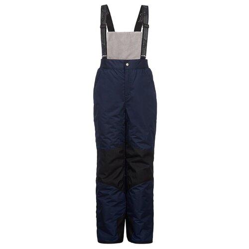 Купить Полукомбинезон Oldos Стелла AAW203T1PT00 размер 110, темно-синий, Полукомбинезоны и брюки