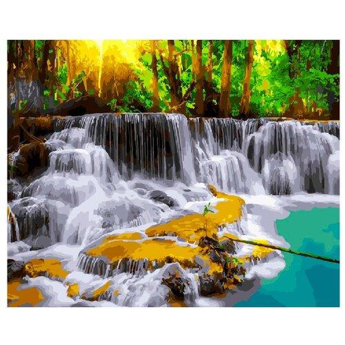 ВанГогВоМне Картина по номерам Тайский водопад, 40х50 (ZX 20650)Картины по номерам и контурам<br>