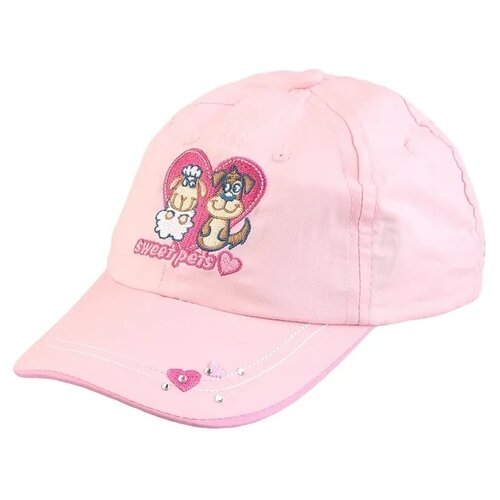 Купить Бейсболка Be Snazzy размер 50, розовый, Головные уборы