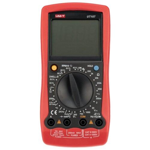 Мультиметр цифровой UNI-T UT107 автомобильный красный