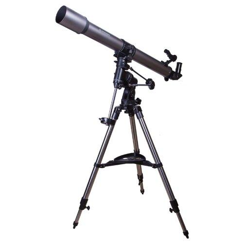Телескоп BRESSER Lyra 70/900 EQ серый/серебристый по цене 27 927