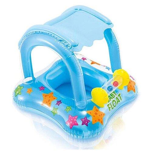 Надувные водные ходунки Intex Baby Float 56581 голубой