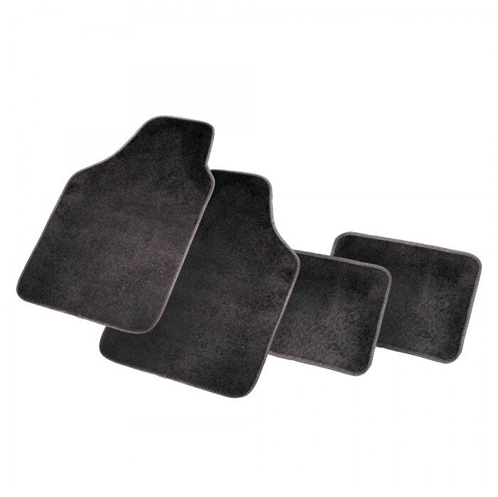 Комплект ковриков AUTOPROFI PET602 BK 4 шт.
