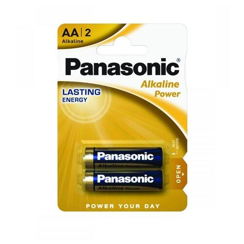 Батарейка Panasonic Alkaline Power AA/LR6 2 шт блистер