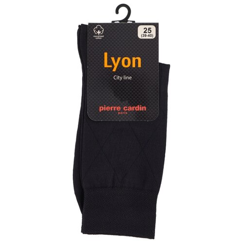 Носки City Line. Lyon Pierre Cardin, 39-40 размер, темно-синий мокасины alessio nesca 00306050 39 темно синий 39 размер