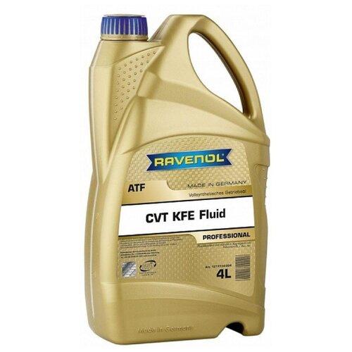 Трансмиссионное масло Ravenol CVT KFE Fluid 4 л