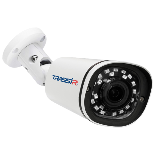 Фото - IP камера TRASSIR TR-D2121IR3 (2.8 мм) белый видеокамера ip trassir tr d2121ir3 1080p 2 8 мм белый