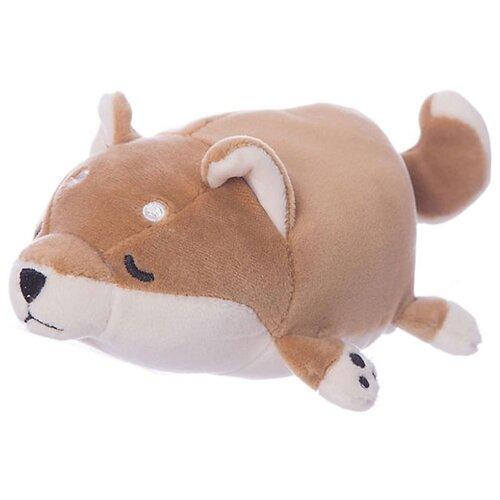 Фото - Мягкая игрушка ABtoys Собачка коричневая 27 см игрушка ёлочная голубка коричневая на прищепке 22 см