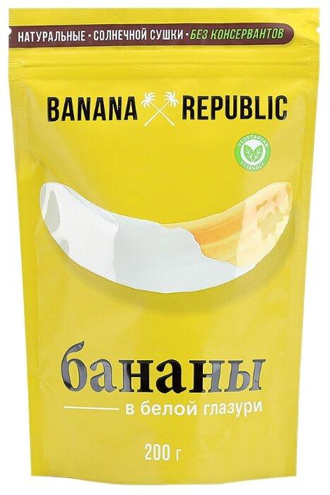 Бананы Banana Republic в белой глазури