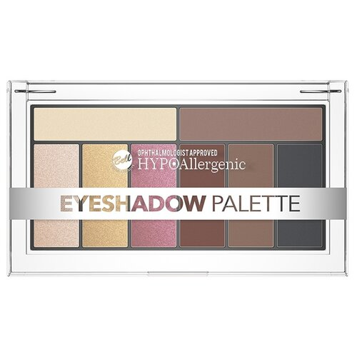 Bell Палетка теней HYPOAllergenic Eyeshadow Palette 02 палетка теней foil frenzy eyeshadow palette