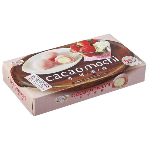 Моти Royal Family Cacao Mochi Strawberry Какао Клубника 80 г
