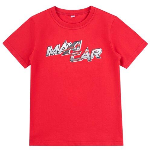 Купить Футболка Leader Kids размер 110, красный, Футболки и майки