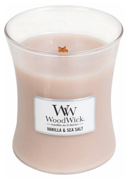 Свеча WoodWick Vanilla & Sea Salt (92191), средняя