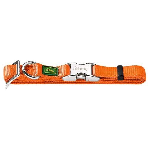 Ошейник HUNTER Basic Alu-Strong M 40-55 см orange