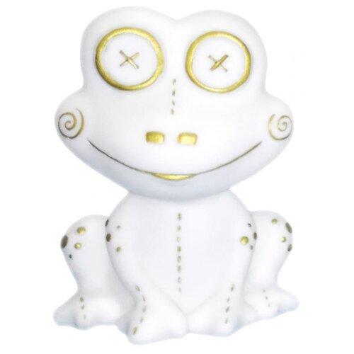 Купить Игрушка для ванной Inseense Лягушонок белый, Игрушки для ванной