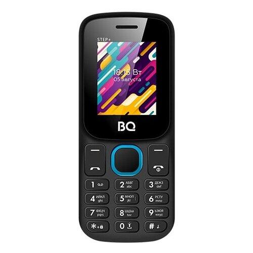 Телефон BQ 1848 Step+, черный / синий сотовый телефон bq 1848 step black