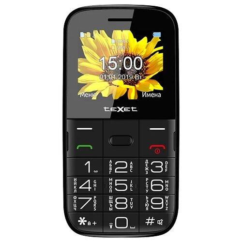 Телефон teXet TM-B227, черный