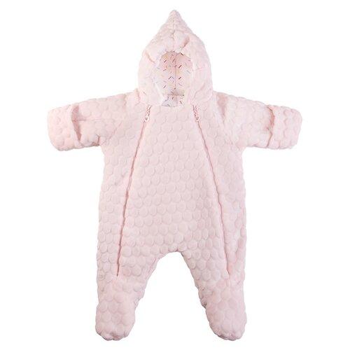 Купить Комбинезон Сонный Гномик размер 68, нежно-розовый, Теплые комбинезоны
