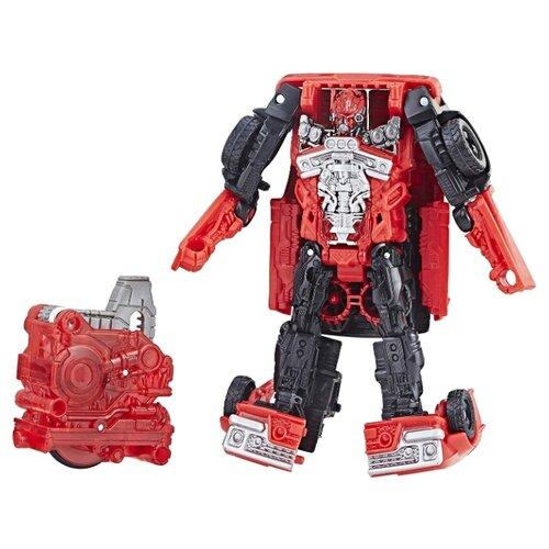 Купить Трансформер Hasbro Transformers Шаттер. Заряд энергона: Перегрузка (Трансформеры 6) E2095 красный/черный, Роботы и трансформеры