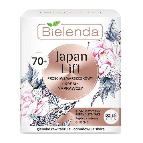 Крем Bielenda Japan Lift Восстанавливающий для лица дневной SPF6 70+, 50 мл цена 2017
