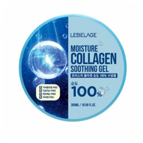 Гель для тела Lebelage Moisture Collagen 100% Soothing Gel универсальный с экстрактом коллагена, 300 мл