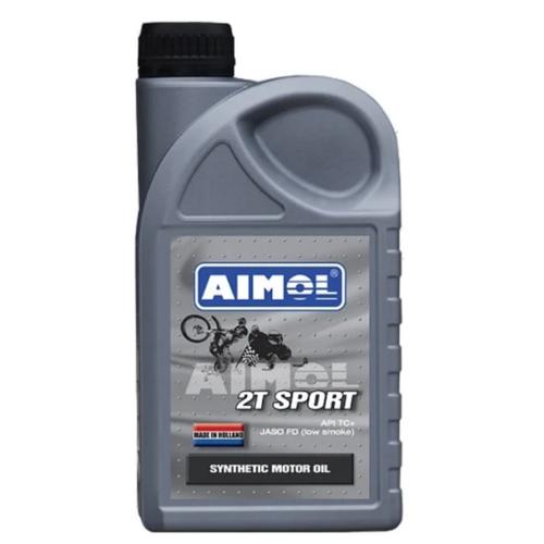 Моторное масло Aimol 2T Sport 1 л моторное масло aimol pro line f 5w 30 1 л 8717662396557