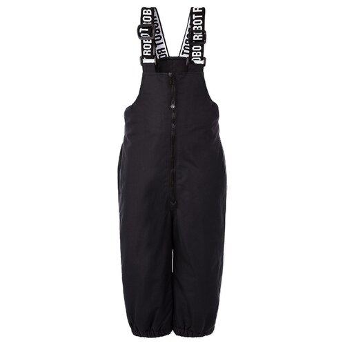 Купить Полукомбинезон playToday 120317502 размер 86, темно-серый, Полукомбинезоны и брюки