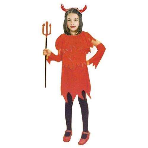 Платье I-Brigth Company Дьяволица (ПТ1294), красный, размер 140-146 платье oodji ultra цвет красный белый 14001071 13 46148 4512s размер xs 42 170