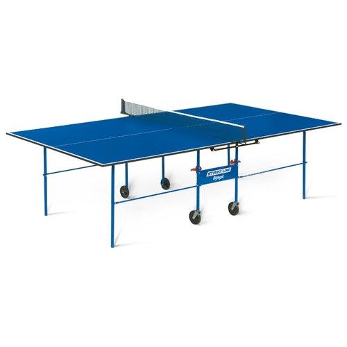цена на Стол для помещения Start Line Olympic без сетки синий 274х152.5х76