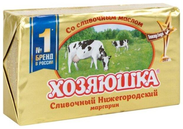 Хозяюшка Маргарин сливочный Нижегородский 60%, 400 г