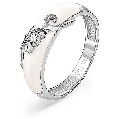 Фото - KABAROVSKY Кольцо с 1 бриллиантом из белого золота 11-11065-1010, размер 17 kabarovsky кольцо с 11 бриллиантами из белого золота 11 1803 1010 размер 17