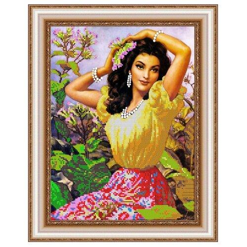 Купить Диамант Набор алмазной вышивки Очарование лета (ДК-318) 30х38 см, Алмазная вышивка