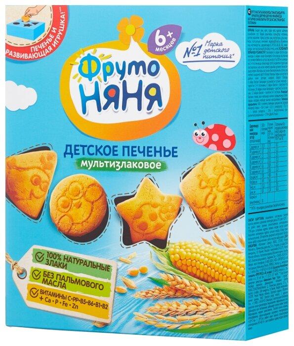 Печенье ФрутоНяня мультизлаковое (с 6 месяцев)