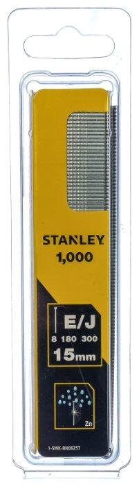 Гвозди STANLEY 1-SWK-BN0625T тип 47 для пистолета, 15 мм
