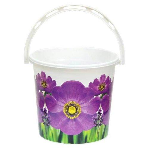 Ведро Violet 0110/890 10 л фиалка