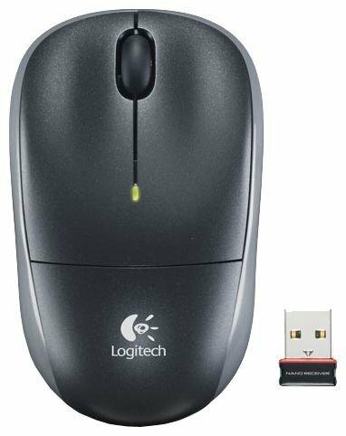 Мышь Logitech Wireless Mouse M215 Black USB