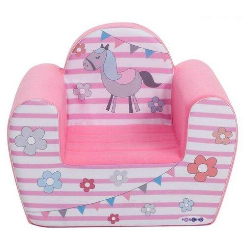 Классическое кресло PAREMO детское PCR317 размер: 54х38 см, обивка: ткань, цвет: Мимими Крошка Ли