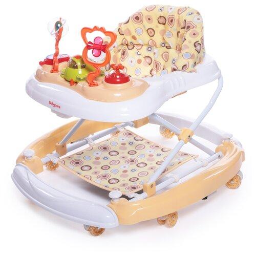 Ходунки Baby Care Aveo бежевый baby care baby care ходунки walker розовые