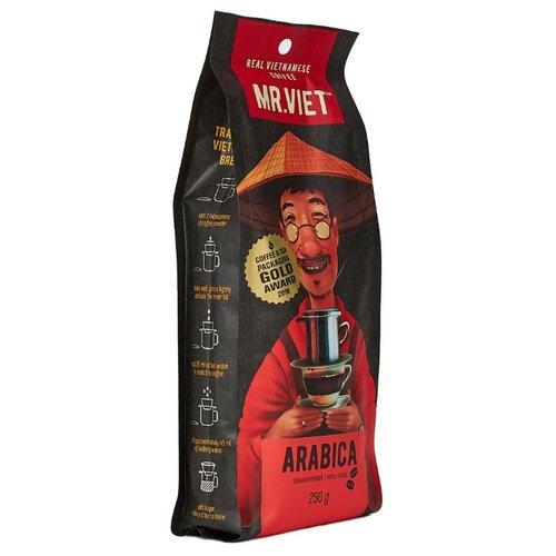 Кофе в зернах Mr.Viet Арабика, арабика, 250 г кофе в зернах bonfuse asia арабика 250 г