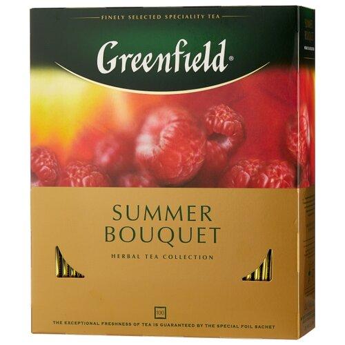 Чай красный Greenfield Summer Bouquet в пакетиках , 200 г , 100 шт. фото