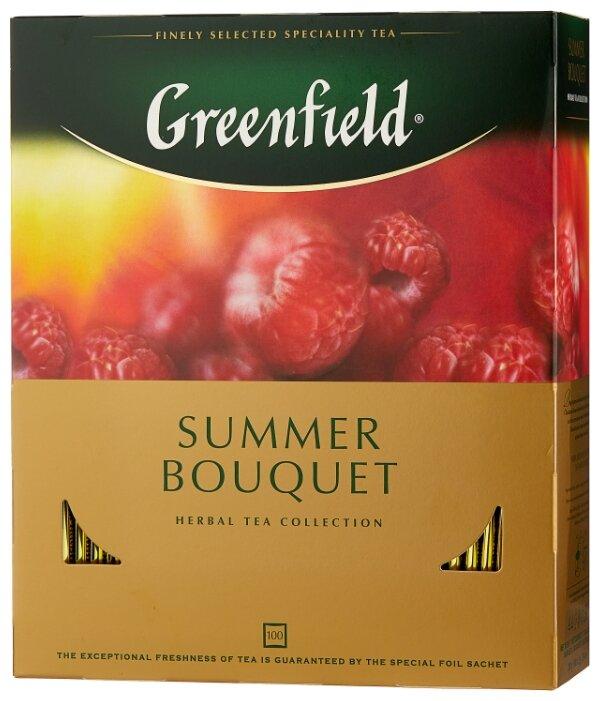 Чай greenfield summer bouguet фруктовый 2гр.25шт.