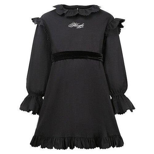 Платье PHILOSOPHY Di Lorenzo Serafini размер 104, черный цена 2017