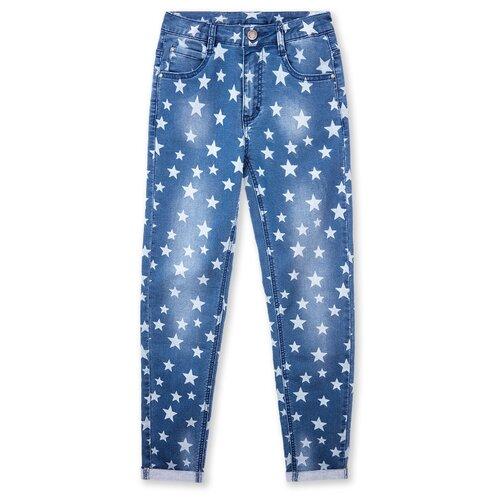 Джинсы playToday размер 110, голубой джинсы playtoday playtoday mp002xb00a99